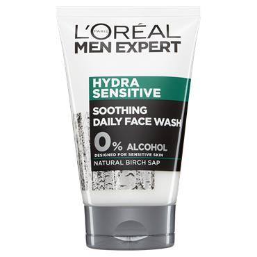 L'Oreal Paris Men Expert Hydra Sensitive Soothing Daily Face Wash 100ml
