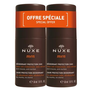 Nuxe Men Deodorant Roll On Twin Pack 2 x 50ml