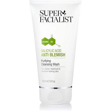 Super Facialist Salicylic Acid Anti Blemish Purifying Cleansing Wash 150Ml