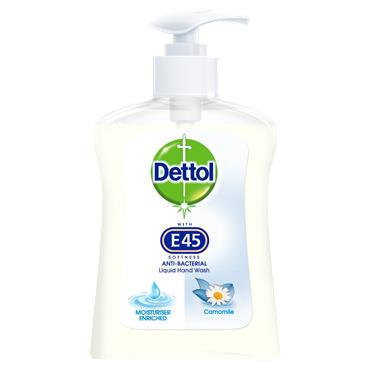 Dettol Hand Wash with E45 Softness Camomile 250ml