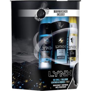 Lynx All Stars Trio Christmas Gift Set