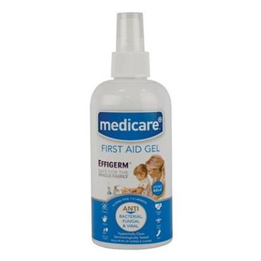 Medicare Effigerm First Aid Hand Sanitiser Gel 60ml