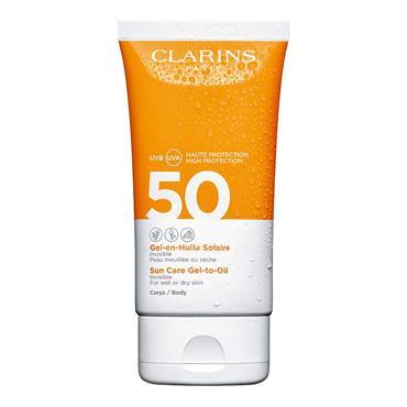 Clarins Sun Gel-in-Oil Sun Care SPF50 150ml