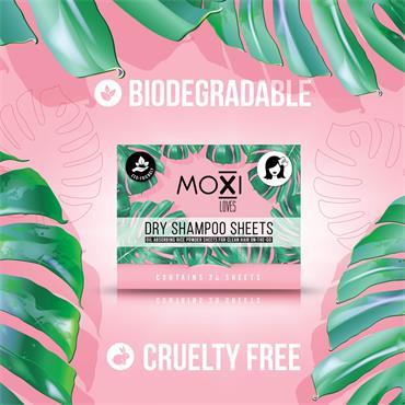 Moxi Loves Dry Shampoo Sheets