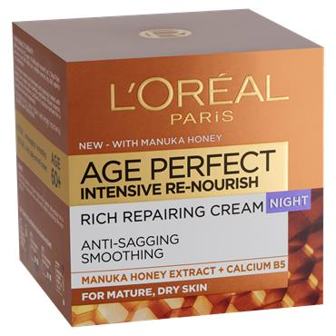 L'Oreal Paris Age Perfect Intensive Renourish Manuka Honey Night Cream 50ml
