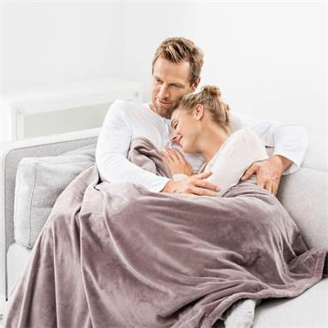 Beurer Cosy heated overblanket - Taupe |BEUHD75T