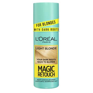 L'Oreal Paris Magic Retouch Light Blonde Instant Dark Root Touch Up Spray 75ml