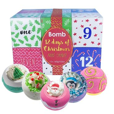 Bomb Cosmetics Gift 12 Days of Christmas