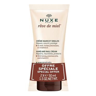 Nuxe Rêve De Miel Hand Cream 50Ml Twin Pack