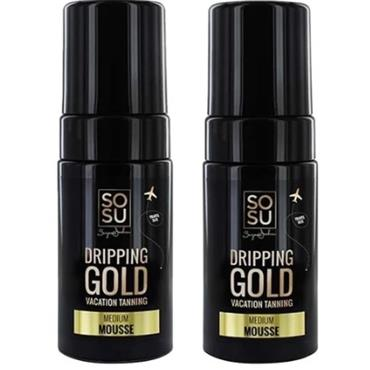 SOSU by Suzanne Jackson Dripping Gold Mousse 100ml Twin Pack