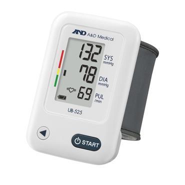 A&D Medical Automatic Wrist Blood Pressure Monitor |ANDUB525