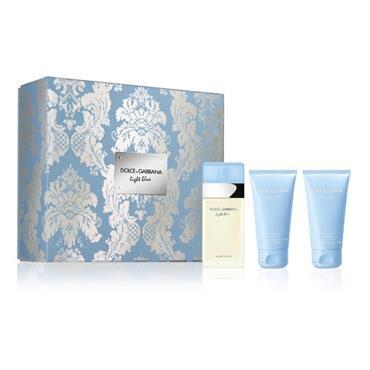 Dolce & Gabbana Light Blue 50ml Eau De Toilette Trio Set