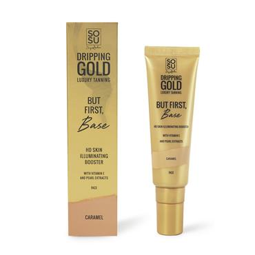 SOSU By Suzanne Jackson Dripping Gold Illuminating Booster Caramel 30Ml