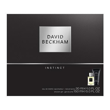 David Beckham Instinct Gift Set 30ml EDT + 150ml Shower Gel