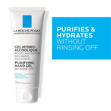 La Roche-Posay Hydro Alcoholic Purifying Hand Gel 100ml