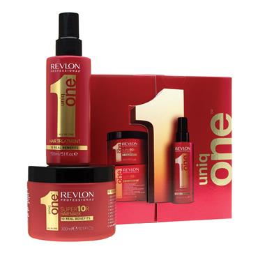 Revlon UniqONE Treatment 150ml & Mask 300ml Gift Set