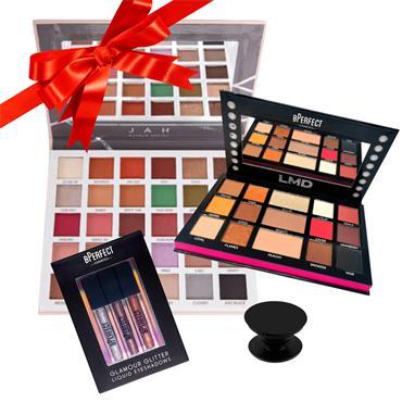 BPerfect Bundle Offer LMD Palette, Clientele Palette , Glamour Glitter Liquid Kit