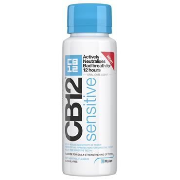 Cb12 Oral Rinse Blue Top Sensitive 250Ml