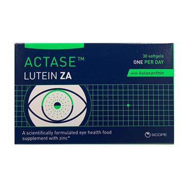 Actase Lutein Za Softgels 30 Pack