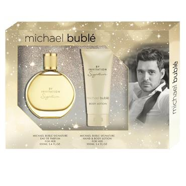 Michael Buble By invitation Signature Gift Set