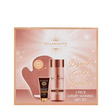 Bellamianta Luxury Tanning Liquid Gold Lovers Dark Gift Set