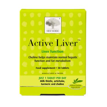 New Nordic Active Liver 30 Tablets