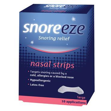 Snoreeze Nasal Strips 10s