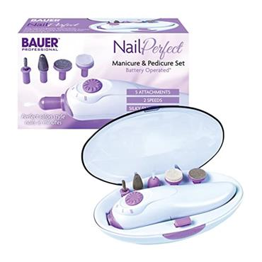 Bauer Nail Perfect Manicure and Pedicure Set