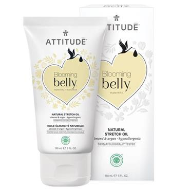 Attitude Blooming Belly Pregnancy Stretch Marks Oil Almond & Argan 150ml