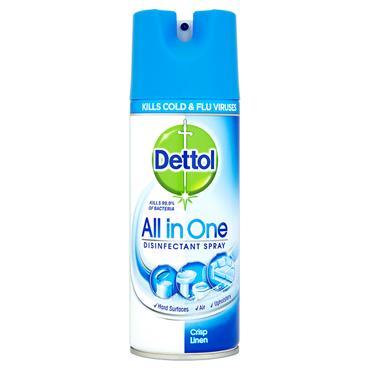Dettol All in One Disinfectant Spray - Crisp Linen