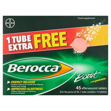 Berocca Boost Multivitamin 45 Tablets