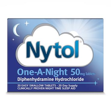 Nytol One-A-Night Tablets 20 Tablets