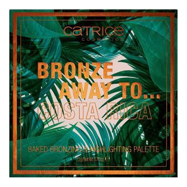 Catrice Bronze Away To... Baked Bronzing & Highlighting Palette Costa Rica
