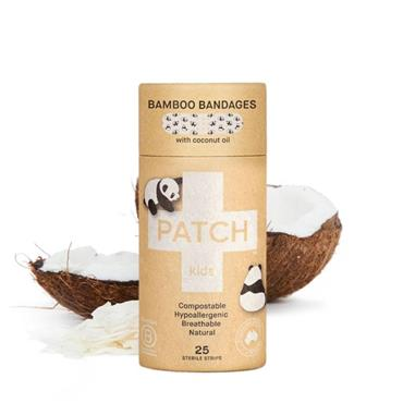 Patch Coconut Oil Allergenic Breathable Bandage 25s