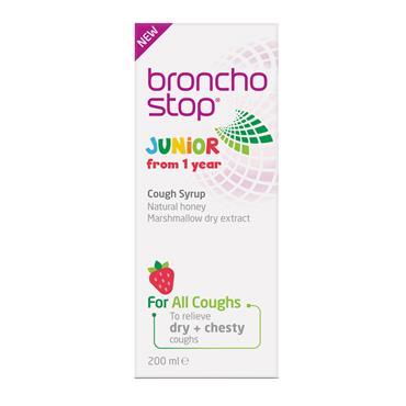 Bronchostop Junior Cough Syrup 200ml