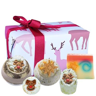 Bomb Cosmetics Gift Wrapped Rudolph Nose Nest