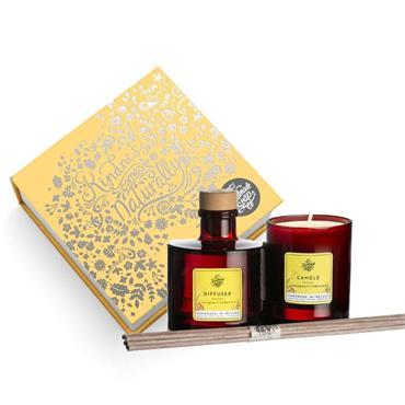 The Handmade Soap Company Lemongrass & Cedarwood Candle & Diffuser Gift Set