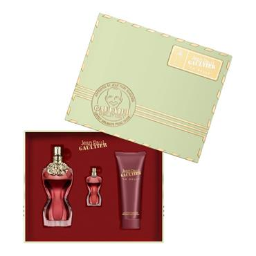 Jean Paul Gaultier La Belle 50ml Eau de Parfum + 75ml Body Lotion + Miniature Gift Set