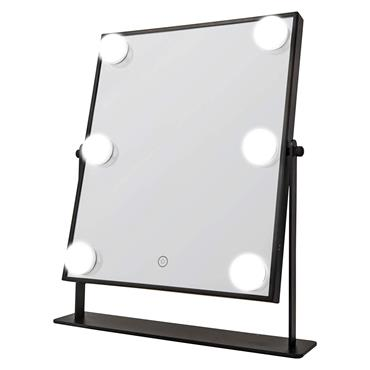 Danielle LED Lights Vanity Mirror Illuminated Touch Black