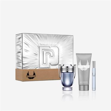 Paco Rabanne Invictus 50ml Eau de Toilette + 10ml Eau De Toilette + Shower Gel 100ml Gift Set