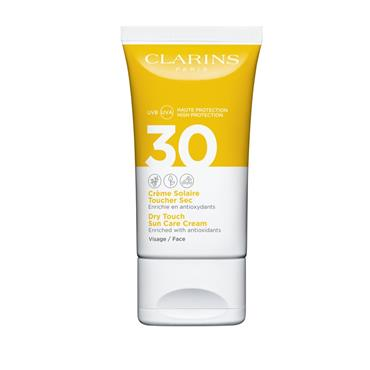 Clarins Dry Touch Sun Care Cream for Face SPF30 50ml
