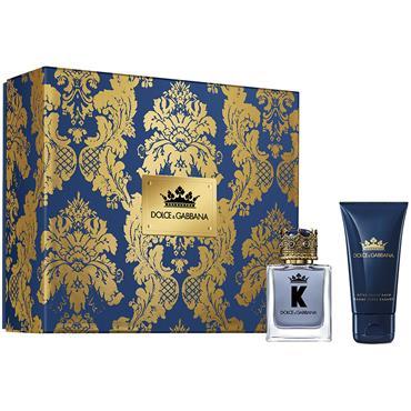 Dolce & Gabbana K by Dolce & Gabbana Eau de Toilette 50ml 2 Piece Gift Set