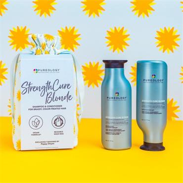 Pureology Strength Cure Blonde 2 x 266ml Gift Set