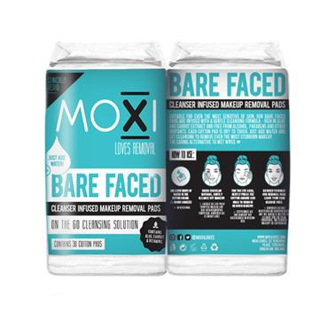 Moxi Loves Barefaced Cleansing pads