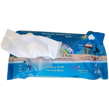 Happy Planet 100% Biodegradable Wipes (60 Wipes)