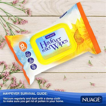 Nuage Hayfever Relief Wipes 30 Wipes