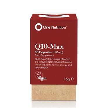 One Nutrition Q10 Max 30 Caps