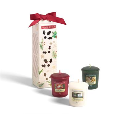 Yankee Candle 3 Votive Candles Gift Set