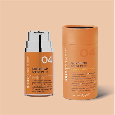 Skingredients 04 Skin Shield Spf 50 Pa+++  50ml
