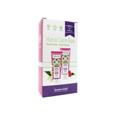 Human + Kind Hand Cream + Hand Scrub Duo Elderflower